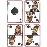 Tarjetas de juego stock de ilustración