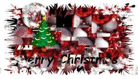 Tarjetas de la Feliz Navidad y de una Feliz Año Nuevo Fotos de archivo libres de regalías
