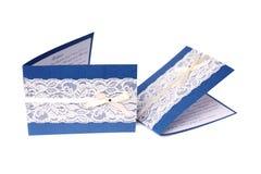 Tarjetas de la invitación Imagenes de archivo