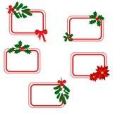 Tarjetas de Navidad fotos de archivo