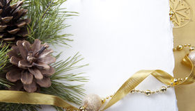 Tarjetas de Navidad Imagen de archivo