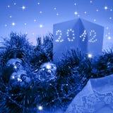 Tarjetas de Navidad 2012 Foto de archivo libre de regalías