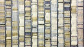 Tarjetas de orden de trabajo Fotografía de archivo libre de regalías