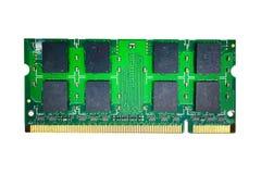 Tarjetas de RAM Memory para el cuaderno fotografía de archivo