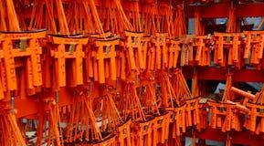 Tarjetas de rogación en Kyoto Foto de archivo libre de regalías