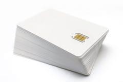 Tarjetas de SIM Fotografía de archivo libre de regalías