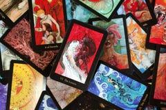 Tarjetas de Tarot Imagenes de archivo