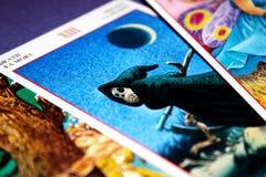 Tarjetas de Tarot - muerte Fotos de archivo libres de regalías