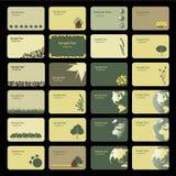 Tarjetas de visita Imágenes de archivo libres de regalías