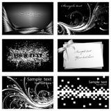 Tarjetas de visita Fotografía de archivo libre de regalías