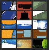 Tarjetas de visita Imagenes de archivo