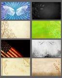 Tarjetas de visita Fotografía de archivo