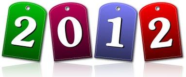 Tarjetas del Año Nuevo Imagen de archivo libre de regalías