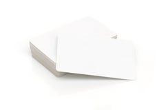 Tarjetas del contacto Fotos de archivo libres de regalías