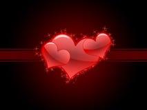 Tarjetas del día de San Valentín foto de archivo