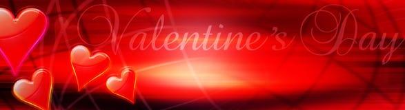 Tarjetas del día de San Valentín Fotografía de archivo