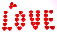 Tarjetas del día de San Valentín Imagen de archivo