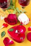 Tarjetas del día de San Valentín Day_19 Imagen de archivo libre de regalías