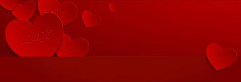 Tarjetas del día de San Valentín day06 Fotografía de archivo libre de regalías
