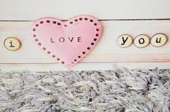 Tarjetas del día de San Valentín del amor Imágenes de archivo libres de regalías