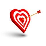 Tarjetas del día de San Valentín felices stock de ilustración
