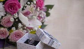 Tarjetas del día de San Valentín, fondo de la tarjeta de cumpleaños Foto de archivo libre de regalías