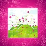 Tarjetas del día de San Valentín fondo, vector   ilustración del vector