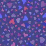 Tarjetas del día de San Valentín seamless-10 Fotografía de archivo libre de regalías