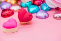 Tarjetas del día de San Valentín y el día más dulce Imagenes de archivo