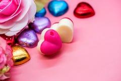 Tarjetas del día de San Valentín y el día más dulce Imagen de archivo libre de regalías