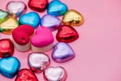 Tarjetas del día de San Valentín y el día más dulce Imágenes de archivo libres de regalías