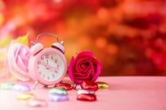 Tarjetas del día de San Valentín y el día más dulce Fotos de archivo