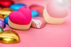 Tarjetas del día de San Valentín y el día más dulce Imagen de archivo