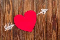 Tarjetas del día de tarjetas del día de San Valentín Fotografía de archivo libre de regalías