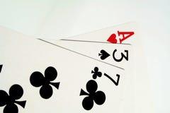 Tarjetas del juego Imagenes de archivo