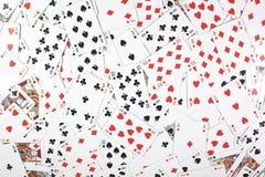 Tarjetas del póker imagen de archivo