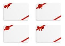 Tarjetas del regalo Imagen de archivo