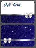 Tarjetas del regalo Foto de archivo