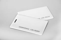 Tarjetas del RFID Foto de archivo libre de regalías