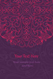 Tarjetas elegantes de la invitación Imagen de archivo libre de regalías