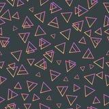 Tarjetas geométricas de moda de Memphis de los elementos Textura retra del estilo, modelo y elementos geométricos Diseño abstract Libre Illustration