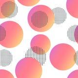 Tarjetas geométricas de moda de Memphis de los elementos Textura retra del estilo, modelo y elementos geométricos Diseño abstract Imagenes de archivo