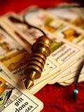 Tarjetas gitanas Imagen de archivo libre de regalías