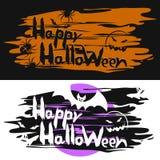 Tarjetas para Halloween Imagenes de archivo