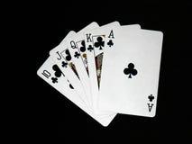 Tarjetas que juegan 04 Fotografía de archivo libre de regalías