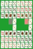 Tarjetas que juegan Imagen de archivo