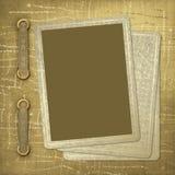 Tarjetas que juegan de la vendimia Stock de ilustración