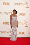 Tarji P. Henson arriving at the 63rd Primetime Emmy Awards Stock Photos