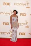 Tarji P. Henson obtenant aux soixante-troisième Prix Emmy Primetime Photos stock