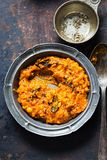 Tarka Dhal Curry royalty free stock photo